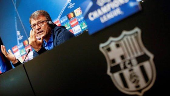 """Vou estar com atençãoàqualidade ofensiva do Sporting, estamos preparados e chamei a atenção à equipa para esse fator"""", afirmou Takis Lemonis"""