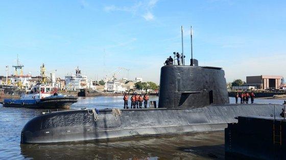 O submarino ARA San Juan desapareceu no dia 15 de novembro.