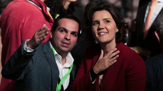 """A líder centrista falou no final da primeira das 20 conferências """"Ouvir Portugal"""""""