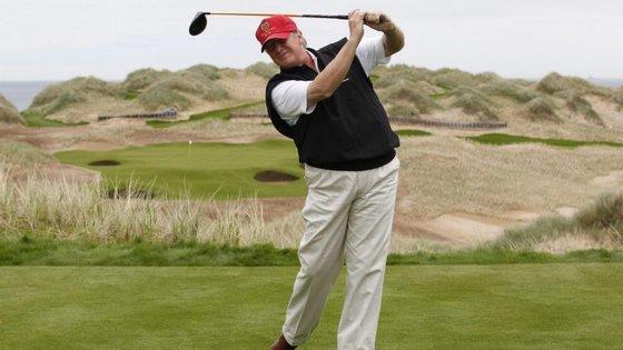 Donald Trump é conhecido pelo gosto por golfe