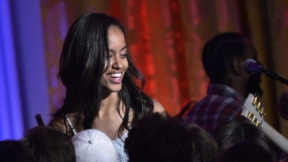 Malia Obama é a filha mais velha de Barack Obama.