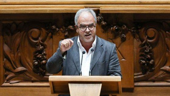 José Manuel Pureza, deputado do Bloco de Esquerda.