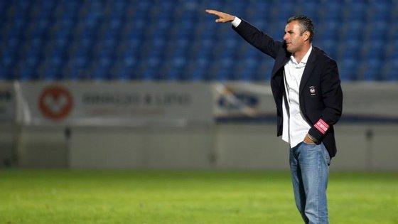 """""""Jogo de ataque, com linhas juntas e subidas"""". Ivo Vieira diz que é isto que o Estoril vai fazer frente ao Maríritmo"""
