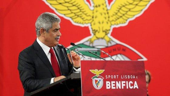 """""""No Benfica trabalha-se muito, sabemos assumir as nossas conquistas, mas também os nossos insucessos"""", disse Luis Filipe Vieira"""