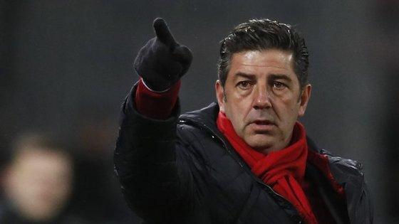 Rui Vitória quer esquecer eliminação europeia e centrar atenções nas três provas nacionais em disputa