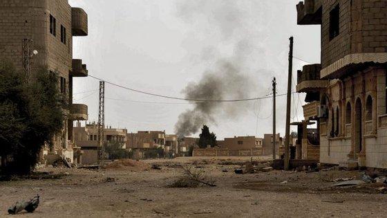 O Estado Islâmicocontrola atualmente apenas cerca de 10% da província síria de Deir Ezzor