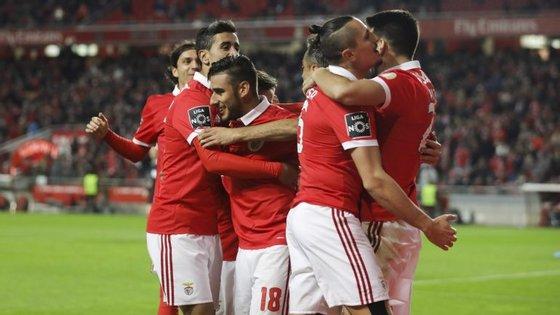 Salvio, André Almeida, Pizzi: quase todos os jogadores do Benfica marcaram ou assistiram frente ao V. Setúbal
