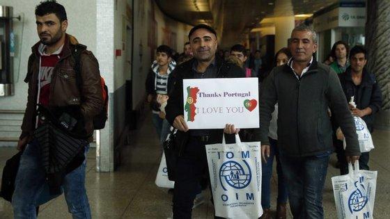 Saman Ali chegou a Portugal em março deste ano, depois de ter conseguido fugir do Iraque para a Grécia