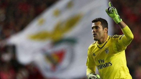Júlio César cumpriu 70 jogos como guardião da baliza do Benfica