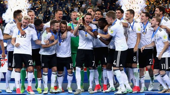 A versão B da Alemanha venceu a Taça das Confederações em 2017, aumentando o leque de opção de Löw para o Mundial