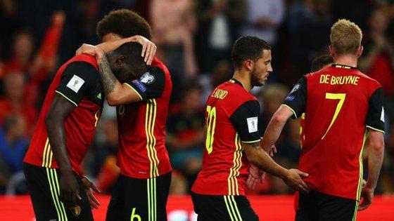 Lukaku, Witsel, Eden Hazard e De Bruyne: Bélgica apresenta uma das suas melhores seleções de sempre num Mundial