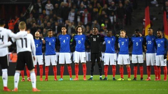 França tem uma grande geração de jogadores entre os 22 e os 25 anos a que se juntaram os prodígios Mbappé e Dembélé