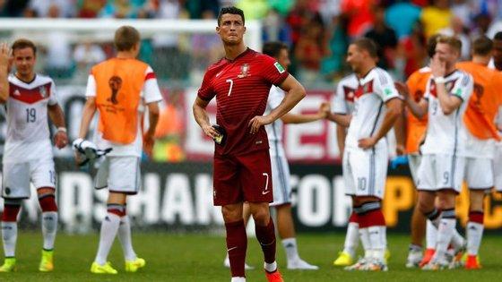 Portugal ficou com a Alemanha, que seria campeã mundial, na fase de grupos da última edição, no Brasil