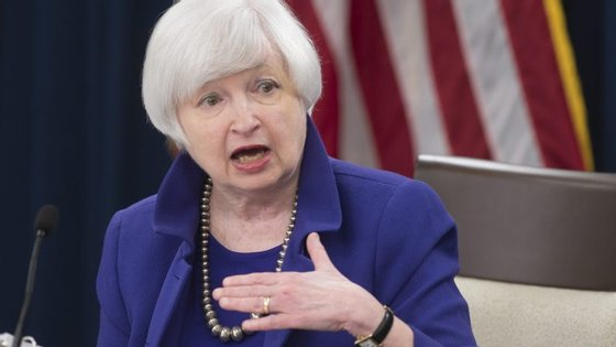 Janet Yellen, presidente da Reserva Federal dos Estados Unidos