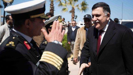 Fayez Serraj indicou que a Comissão Eleitoral da Líbia iniciou o registo de eleitores