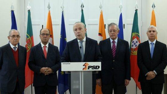 Moção de Pedro Santana Lopes rejeita uma coligação entre o PSD e o CDS