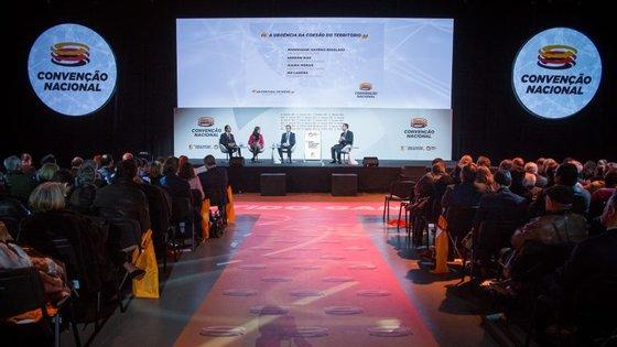 A Convenção Nacional da candidatura de Pedro Santana Lopes realiza-se este sábado no Pavilhão Carlos Lopes. Fotografia: JoãoPorfírio/Observador
