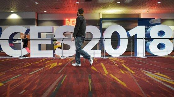 A CES 2018 decorre de 9 a 12 de janeiro, em Las Vegas