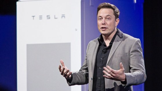 Elon Musk é fundador da Tesla e da Space X.