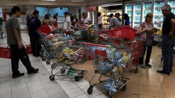 Empresários dos supermercados tiveram apoio dos fornecedores e dos bancos