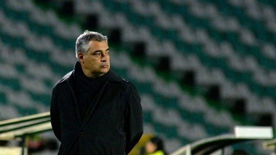 """""""Esperamos um jogo difícil e equilibrado frente a uma equipa que tem os mesmos objetivos que nós"""", afirmou José Couceiro"""