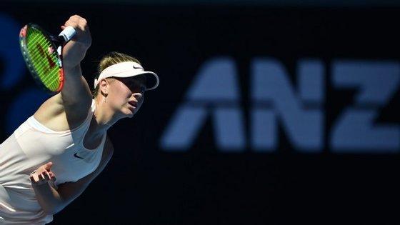 Marta Kostyuk passou a fase das qualificações, chegou à terceira ronda na Austrália e va defrontar agora Svitolina