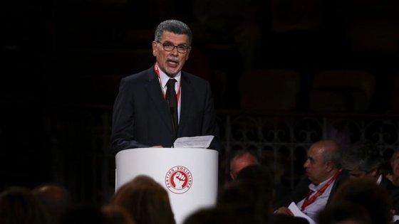 """António Capucho chegou a participar num encontro socialista no Coliseu dos Recreios onde António Costa apresentou o programa eleitoral do PS. Disse que eram """"propostas credíveis"""""""