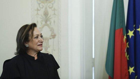 A Procuradora-Geral da República, Joana Marques Vidal, termina o mandato em outubro deste ano