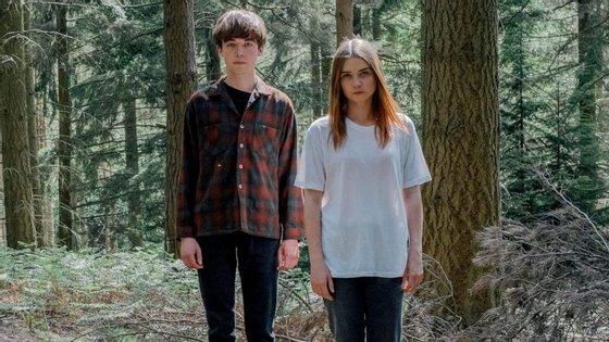 James e Alyssa. Parecem pequenos e assim, mas é tudo fachada