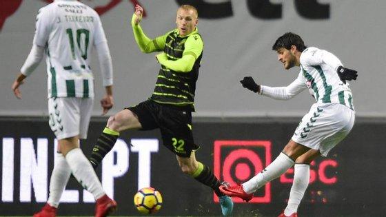 Gonçalo Paciência fez desta forma o primeiro golo da final da Taça da Liga