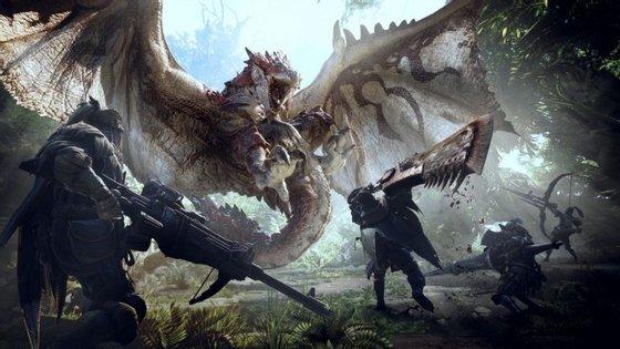 Monster Hunter: World torna-nos um caçador de monstros colossais