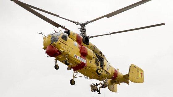 Os helicópteros Kamov do Estado estão todos parados