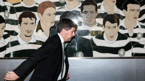 Bruno de Carvalho enfrenta este sábado um dos dias mais relevantes em cinco anos de presidência do Sporting