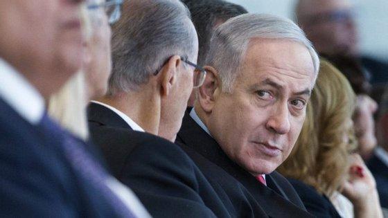 As declarações de Benjamin Netanyahu acontecem uma semana depois de ataques aéreos de Israel contra postos iranianos na Síria
