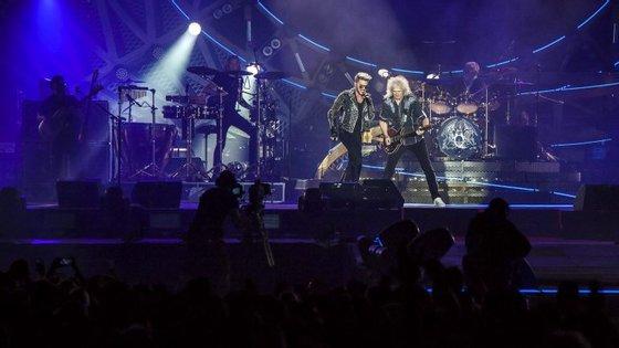 Os Queen estiveram em Portugal em 2016, altura em que aturam no Rock in Rio Lisboa