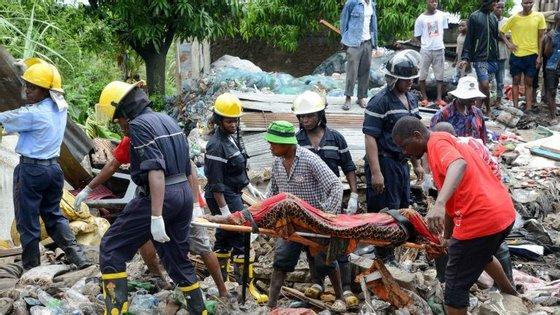 Os dados preliminares indicam que sete casas foram destruídas