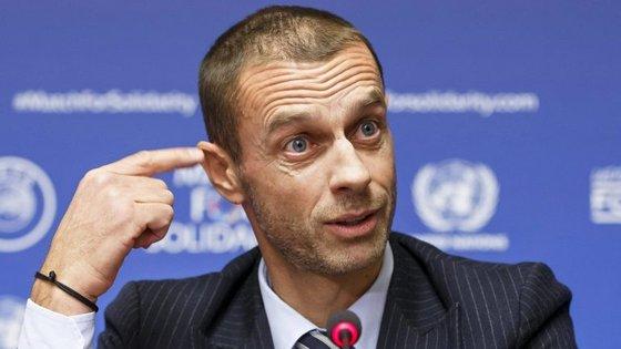 O texto do dirigente da UEFA lembra a eleição de Ricardinho como melhor jogador do torneio, disputado na Eslovénia