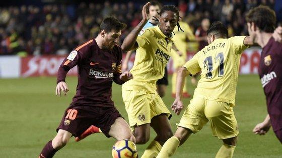 O internacional português sub-21 chegou a Villarreal no verão de 2017