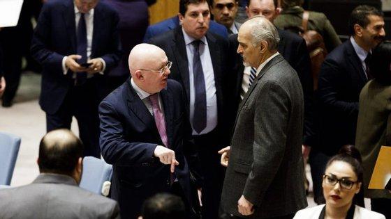 As conversações sobre um cessar-fogo decorrem desde o dia 9 de fevereiro com o objetivo de evitar um veto pela Rússia