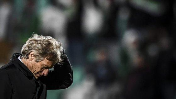 Jorge Jesus enalteceu o carácter de uma equipa muito desfalcada que chegou a ser assobiada com o Moreirense
