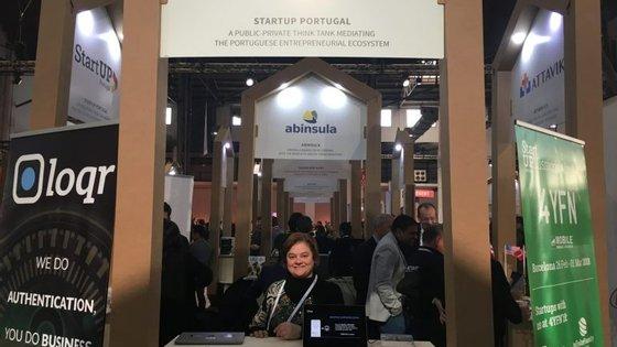 Tânia Barros é uma das fundadoras da LoQR, uma das startups que fez parte da delegação da startup Portugal em Barcelona
