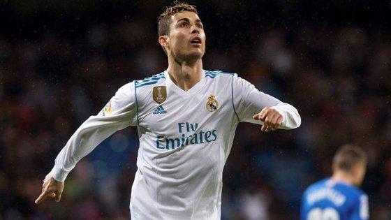 Cristiano Ronaldo marcou dois golos frente ao Getafe