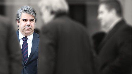 O assessor jurídico do Benfica, Paulo Gonçalves