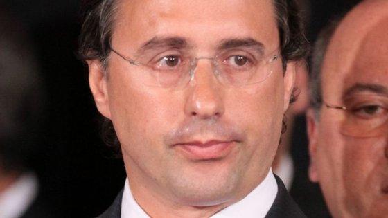 Feliciano Barreiras Duarte, em 2011, na tomada de posse do primeiro governo de Pedro Passos Coelho, do qual fez parte