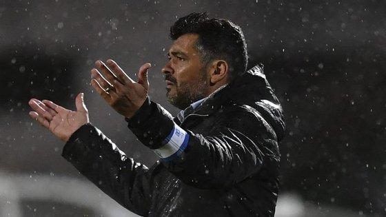 Sérgio Conceição assumiu erros próprios na derrota mas mostrou-se muito crítico com a atitude do P. Ferreira em campo