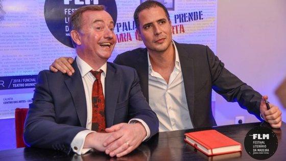 Coube a Ricardo Araújo Pereira e a Mick Hume abrir a oitava edição do Festival Literário da Madeira
