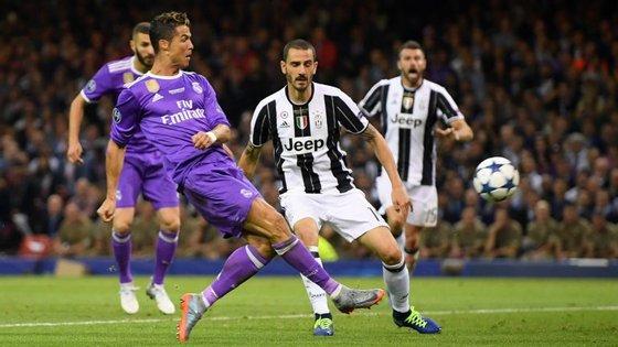 Cristiano Ronaldo, melhor marcador da Champions com 12 golos, bisou na final do ano passado com a Juventus