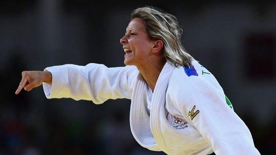 Telma Monteiro, atual 23.ª do ranking mundial, ganhou na Rússia a quatro judocas do top-20 da categoria de -57kg