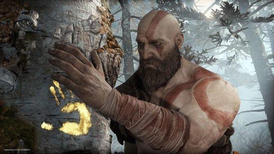 Kratos, o protagonista de God of War está mais velho, e trocou a paisagem grega pelo frio dos países nórdicos.