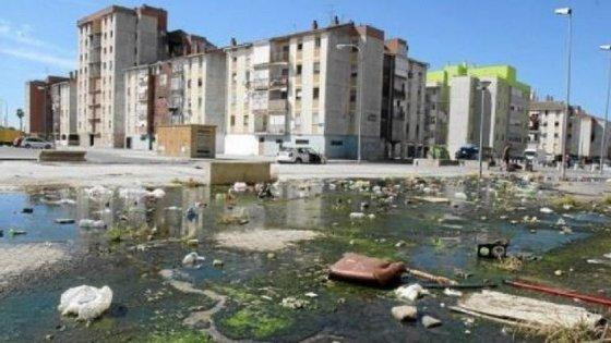 Os blocos de vivendas sociais do Polígono Sur, Sevilha